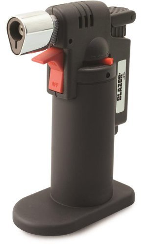 Blazer 189-9274 Firefox Mini Torch, Butane, Refillable, 2,500 Degrees F Blue Torch Flame