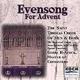St. Thomas Choir Of Men & Boys: Evensong for Advent