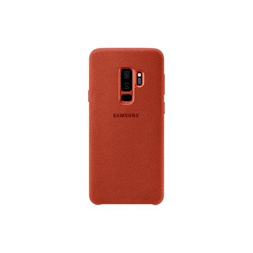 Samsung Galaxy S9+ Alcantara Cover International Version No Warranty (Red)