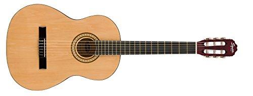 Squier by Fender SA-150 Dreadnought Acoustic Guitar - Sunburst Bundle with Gig Bag, Tuner, Strap, Strings, Picks, Austin Bazaar Instructional DVD, and Polishing Cloth