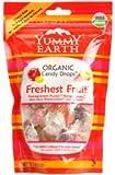 Yummy Earth Organic Candy Drops Freshest Fruit - 3.3 oz