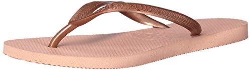 Havaianas Women's Slim Flip Flop Sandal, Ballet Rose, 7-8 M US ()