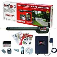 Mighty Mule Automatic Gate Opener for Heavy Duty Single Swing Gates for 18 Feet Long or 850 Pounds...