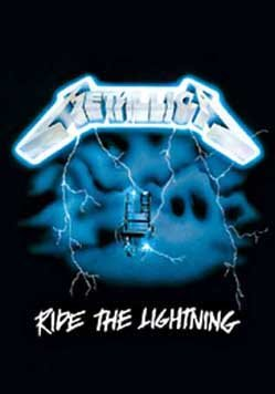METALLICA POSTER Ride the Lightning RARE HOT NEW 24X36
