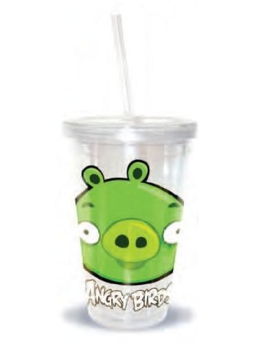 Angry Birds Piglet Tumbler Straw