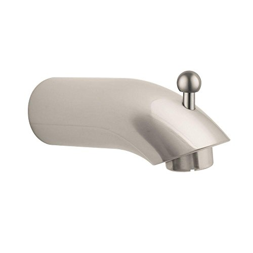 Hansgrohe 06959820 E Tubspout with Diverter, Brushed Nickel by Hansgrohe
