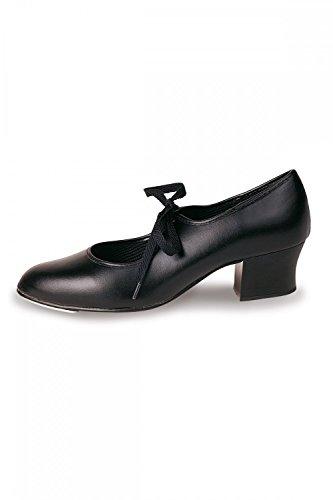 Roch Valley PVCTC' Cuban Tap Shoes Black W4oQDOsrX