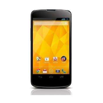"LG Google Nexus 4 E960 16GB 4.7"" Unlocked GSM 8MP Camera Smartphone - Black"