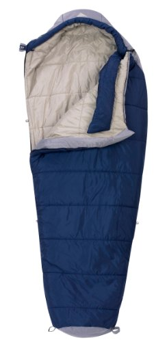 Kelty Cosmic 20 Degree Synthetic Sleeping Bag, Extra Long, Blue Solid