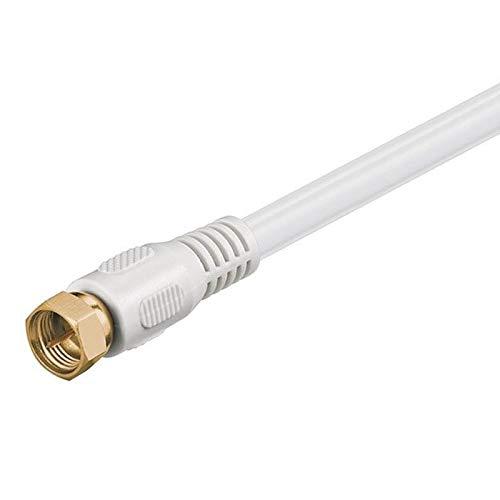Anka de Digital Conector Cable 30 m Sat Cable Coaxial HD 2 Capas geschrimt premontado Conectores F Dorados UHD 4 K 8 K Cable coaxial TV Radio DVB-T DVB-T2 ...