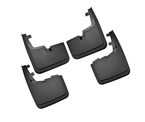 Tecoom Mud Flaps Splash Guards Front and Rear 4Pcs Set for 2015-2018 Ford F-150 Without Fender Flares ABS Molded