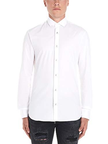 Philipp Plein Luxury Fashion Mens Shirt Winter White