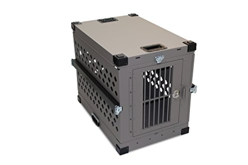 Impact Dog Crate (Collapsible), 450 Model, X-Large, Grey in Color
