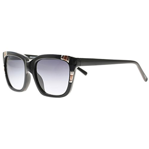 Guess 7270 BLK-35 Black 7270 Cats Eyes - Sunglasses For 2013 Guess Women