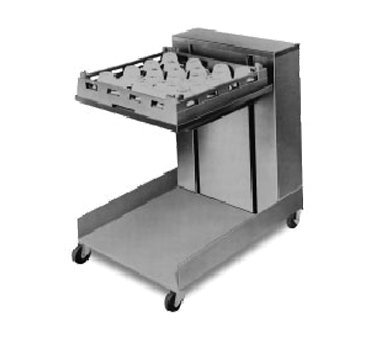 Mobile Lowerator Dispensers Cantilever (APW Wyott Lowerator Open Mobile Cantilever Glass and Tray Dispenser, 20 x 20 inch Tray Size -- 1 each.)
