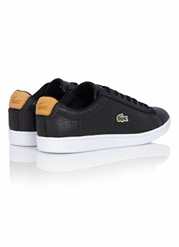 Evo Tan 33spm1036315 G117 Leather 1 Carnaby Blk Spm 7 Lacoste 5YRxqP7an