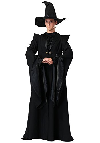 Adult Deluxe Plus Size Professor McGonagall Costume 1X Black -