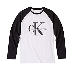 Best Epic Trends 31e7ZSJzYyL._SS300_ Calvin Klein Boys' Long Sleeve Tee
