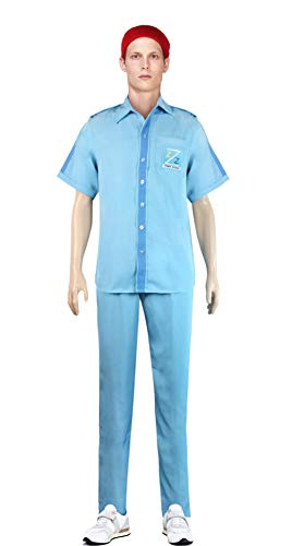 Life Aquatic with Steve Zissou Costume Halloween Uniform -