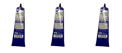 SCIGRIP 16 10315 Acrylic Cement, Low-VOC, Medium bodied, 5 Ounce Tube, Clear (3-(Pack))