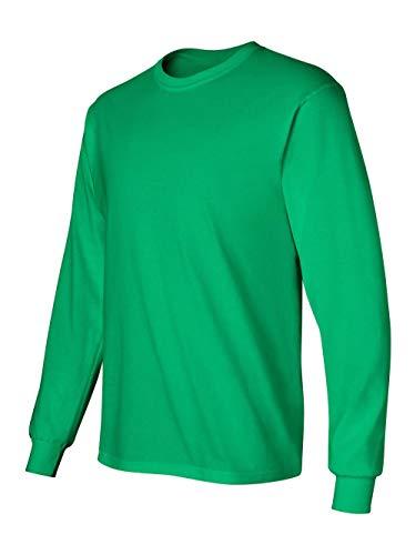 Gildan Adult L/S T-Shirt in Irish Green - ()
