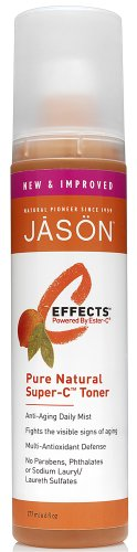Jason C-Effects Super-C Toner, 6 Ounce (Pack of 3)