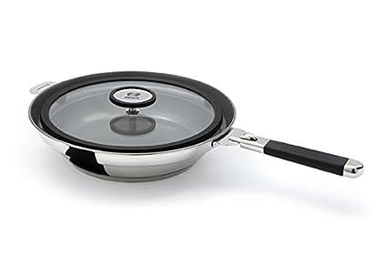 Beka - Clean Cooking Sarten revesto Teflon con proyección contra Tapadera D 24cm