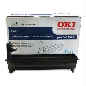 Okidata 44315103 C610 Series Cyan Image