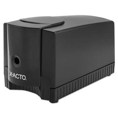 X-ACTO Products - X-ACTO - Deluxe Heavy-Duty Desktop Electric Pencil Sharpener, Black/Gray - by X-Acto (Image #1)