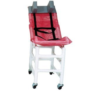 MJM 191-LC Reclining Bath Chair Large with Casters, 180 o...