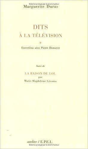 Dits à la télévision : Entretiens avec Pierre Dumayet epub pdf
