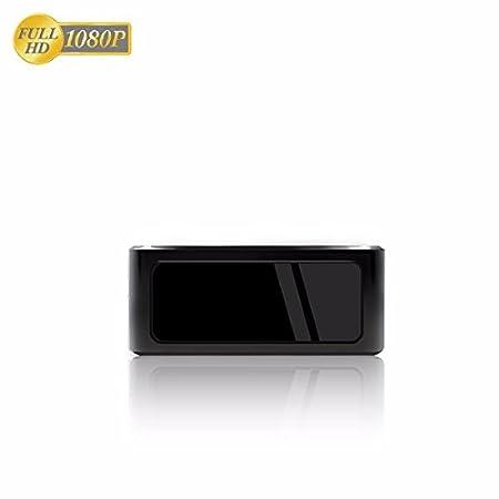 Caméra de surveillance IP WiFi mobile avec vision nocturne/ Full HD, carte micro SD jusqu'à 256 Go/accès par smartphone et tablette/avec détection de mouvement.