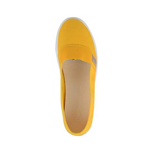 Yellow Elara Femme Bas Elara Bas Berlin pq06p