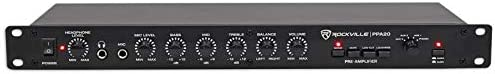Rockville PPA20 Home Audio Preamp Pre-Amplifier w Crossover EQ