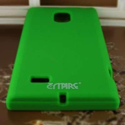 EMPIRE Verizon LG SPECTRUM 2 / VS930 Silicone Skin Case Tasche Hülle Cover (Neon Grün)
