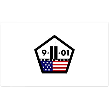 Cafepress 9 11 01 sticker rectangle bumper sticker car decal