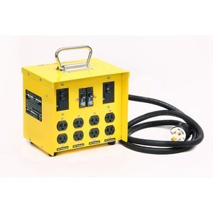 CEP Construction Electrical Products 6503GU 30-Amp Mini Portable Power Center by CEP Construction Electrical Products