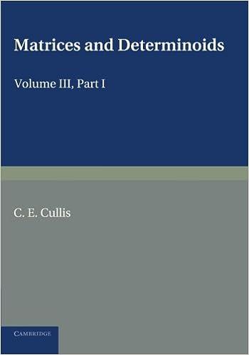 Mejortorrent Descargar Matrices And Determiniods: Volume 3, Part 1 Pagina Epub