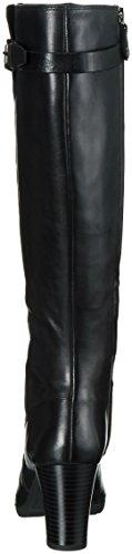 Geox D643WC00043 - Stivali Alti da Donna Schwarz (Blackc9999)