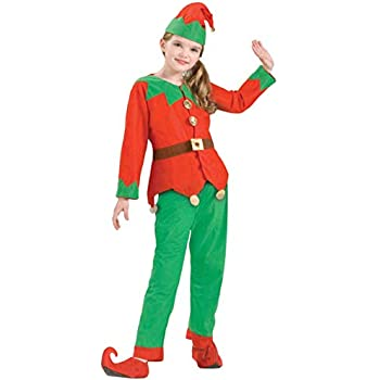 f95801cf1 Amazon.com  Rubie s Costume Co Child Elf Tights Costume Large ...