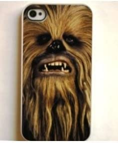 Chewie iPhone 4/4S Black Case - Star Wars Chewbacca ? (802bi4 ...