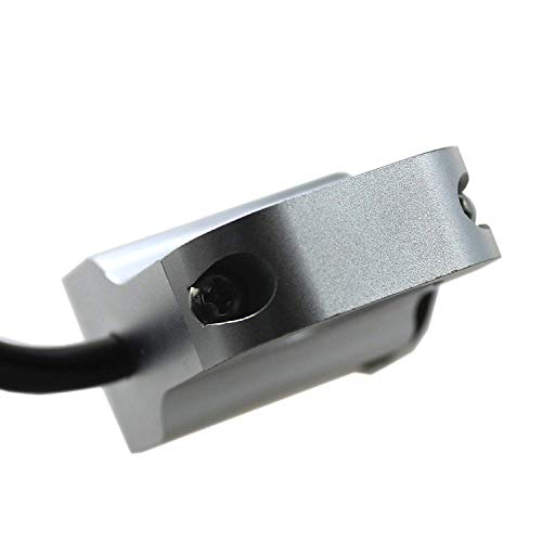 Welugnal 12v 16A waterproof Motorcycle CNC aluminium alloy Switches 1 25mm Handlebar headlight Switch with indicator light Sport Dirt Electric Bike Interrupteur Moto 25mm