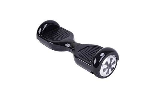 UL2272 Certified HOVERBOARD 6.5' Smart Self Balancing Electric Scooter Personal Adult Transporter with LED Lights (Black)