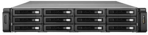 QNAP(キューナップ) Systems Inc. TurboNAS TS-1279U-RP 72TB HDD搭載モデル (WD Red 6TB HDD x 12 搭載) T1279URT12MW60   B00MAWTOVM