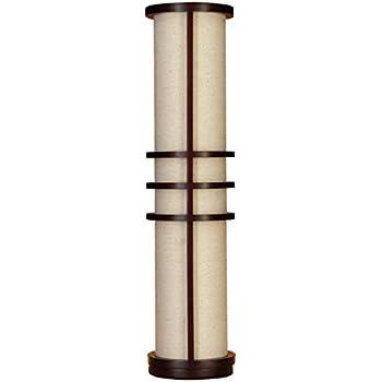 wooden floor lamp base deco wood made brown tripod rustic uk
