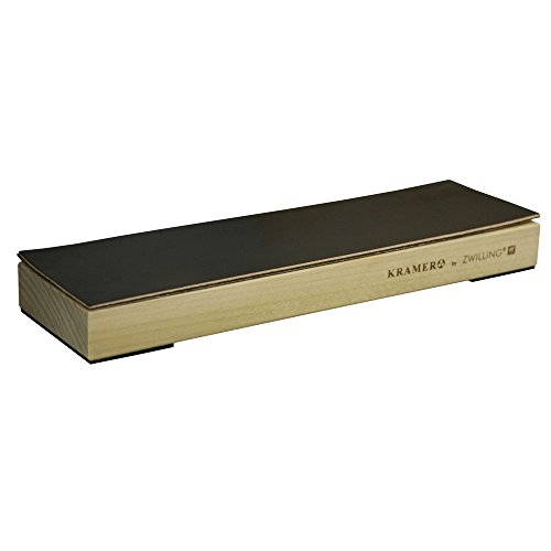 ZWILLING J.A. Henckels 34999-103 Hardwood Block with Leather Stropping -