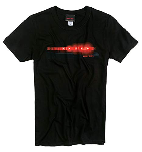 KITT Scanner Lights T-shirt, black - small