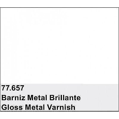 Vallejo Gloss Metal Varnish 32ml Paint