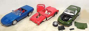 - Three Built UP Kits for Repair or Parts - '96 Corvette; '97 Corvette; '57 Corvette Gasser ()