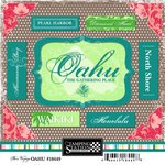 Scrapbook Customs - United States Collection - Hawaii - Cardstock Stickers - Oahu - Bon ()